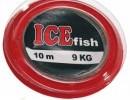 Ocelové lanko na kolečku ICE fish 3kg/10mOcelové lanko na kolečku ICE fish 3kg/10m