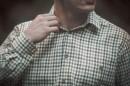 Pánská košile s dlouhým rukávem, KároPánská košile s dlouhým rukávem, Káro