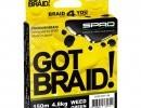 Šňůra Spro Got Braid Green 0,16mm/150mŠňůra Spro Got Braid Green 0,16mm/150m