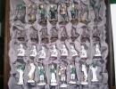 Luxusní šachovnice myslivecký motivLuxusní šachovnice myslivecký motiv