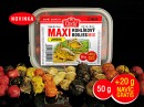 Rohlíkové boilies Maxi Mix 20mm+10mm MedRohlíkové boilies Maxi Mix 20mm+10mm Med